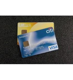 Microregistratore occulto in carta di credito