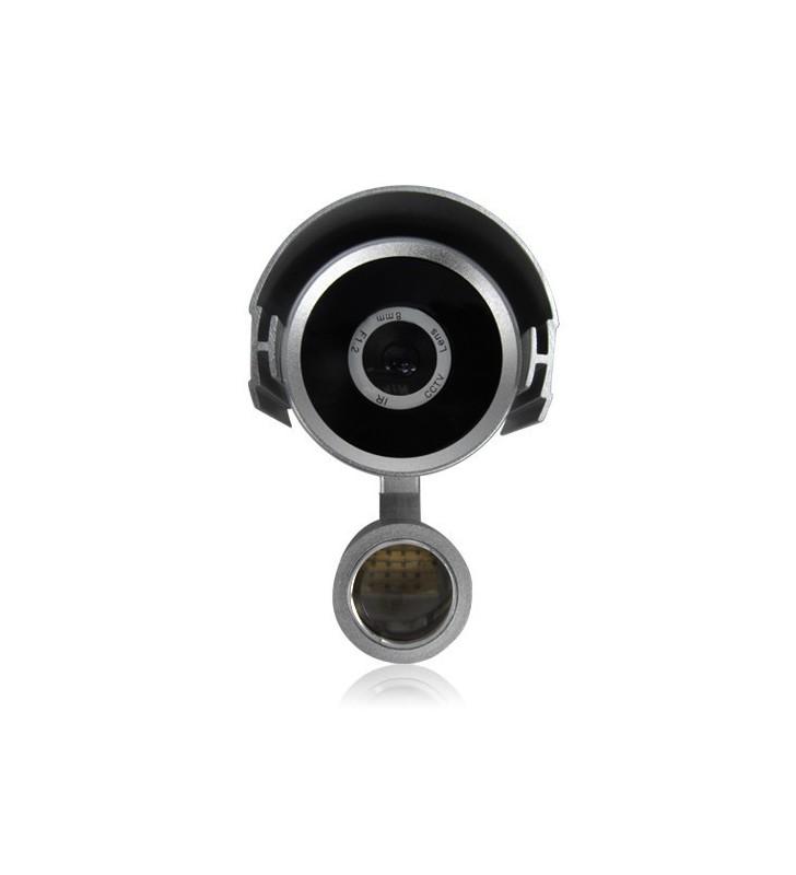 Microcamera occultata in sensore antifurto + Dvr