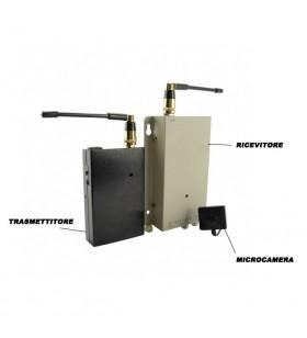 """Microcamera in telecomando auto con """"Motion"""""""