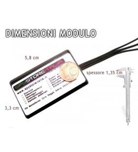 Orologio da polso con microcamera full metal 8 gb