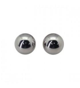 Coppia micro auricolari 3mm sferici
