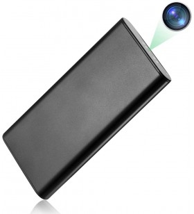 Telecamera ad infrarossi occultata in un Powerbank funzionante.