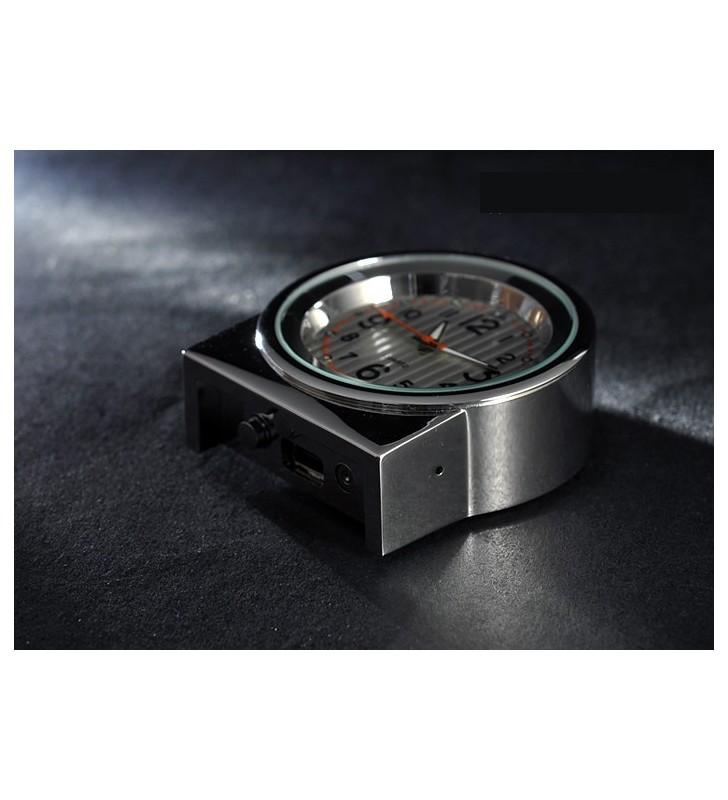 Mini sveglia da mensola con microcamera occultata