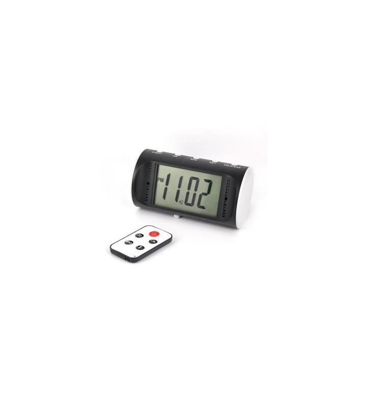 Microcamera occultata in sveglia da tavolo digitale