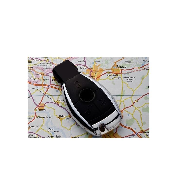 Microcamera in telecomando auto stile Mercedes